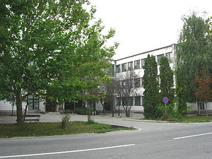 Žitište - Building in the town center.