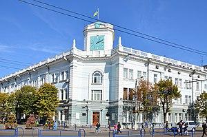 Zhytomyr - Mykhailivska street in Zhytomyr