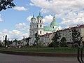 Гродна, касцел Св. Францыска Ксаверыя (XVII-XVIII) - Hrodna, church of St Francis Ksaver (XVII-XVIII) - panoramio.jpg