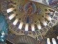 Кронштадт. Морской Никольский собор. Роспись на потолке..JPG