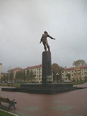 Памятник героям стратонавтам