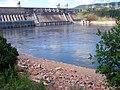 Плотина Красноярской ГЭС и возле неё (4).JPG