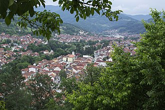Ivanjica - Image: Поглед на Ивањицу