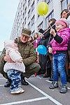 Президент України Петро Порошенко привітав молодих офіцерів з випуском 652 (16758042228).jpg
