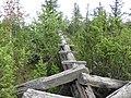 Разрушенная треунгалиационная вышка. - panoramio.jpg