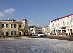 Square in Kovel, 2002