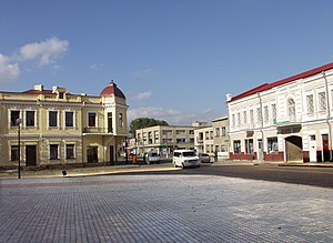 Kovel - Square in Kovel, 2002