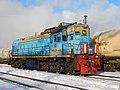 ТЭМ18ДМ-446, Россия, Самарская область, станция Бичевной (Trainpix 214338).jpg