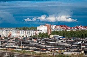 Yugorsk - Image: Туча panoramio (2)