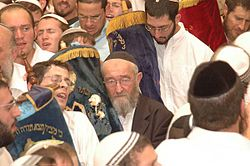 הרב חיים שטיינר בבית הרב קוק