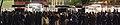 大井競馬場の場内で勝ち馬予想を提供する予想屋と観客の風景(2015年12月31日).JPG