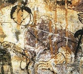 Xiang Yu - Xiang Yu as a depicted in a Han dynasty fresco