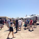 -BlueSkies @PacificAviation Museum Pearl Harbor today. -aviation -avgeeks -fly (9020792238).jpg