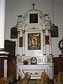 04 Gródek, Kościół pw. św. Anny (1840-46 r.) wnętrze kościoła - ołtarz boczny. Gmina Jarczów powiat tomaszowski..JPG