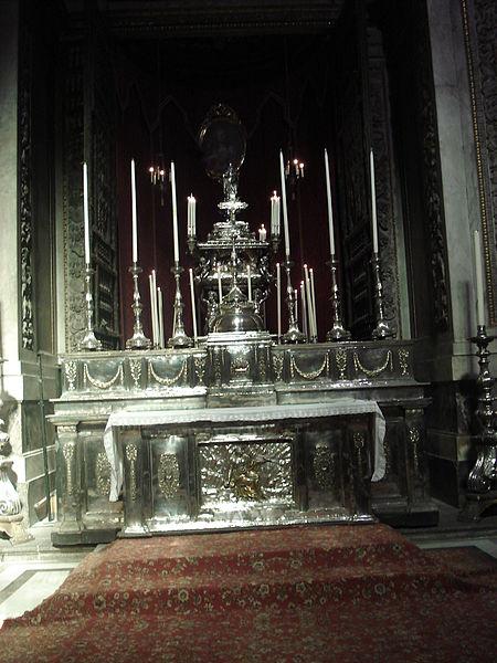 File:0552 - Palermo, Cattedrale - Cappella di S. Rosalia (1631) - Foto Giovanni Dall'Orto 28-Sept-2006.jpg