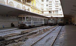 Bari Centrale railway station - 06.11.02 Bari Centrale, 2002