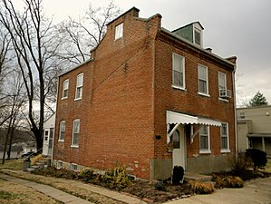 National Register of Historic Places listings in Franklin County, Missouri - Image: 110 W Sixth Washington