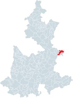 Quimixtlán Municipality in Puebla, Mexico