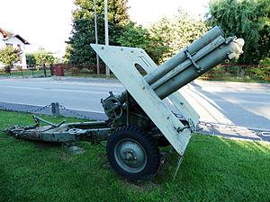 Skoda 100 mm Model 1916 - Skoda 100 mm model 1916