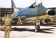 120th Tactical Fighter Squadron F-100C 54-1836 Phan Rang AB
