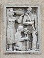 1210 Jedleseerstraße 79-95 Stg. 53 - Relief-Hauszeichen Kleingarten von Ernst Wenzelis 1955 IMG 0725.jpg