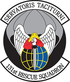 131st Rescue Squadron - Image: 131st Rescue Squadron emblem