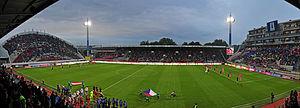 Andrův stadion - Czech-Austria 2014
