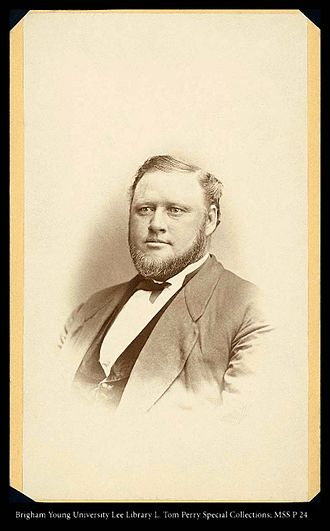 Brigham Young Jr. - Brigham Young, Jr. between 1870 and 1875