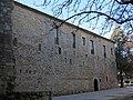 149 Monestir de Sant Cugat, façana de la galeria nord del claustre.JPG