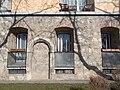 14th century house remains. - 24 Tóth Árpád Promenade, 2016 Budapest.jpg