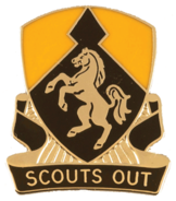 153rd Cavalry Regiment Distinctive Unit Insignia