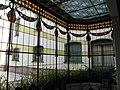 154 Casa Alegre de Sagrera (Terrassa), galeria amb vitralls modernistes.JPG