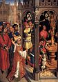 15th-century unknown painters - St Augustine Sacrificing to a Manichaean Idol - WGA23575.jpg