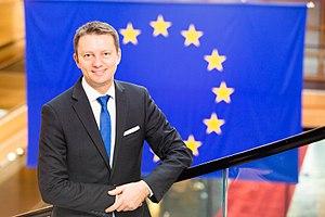 Siegfried Mureșan - Siegfried Mureșan in the European Parliament in Strasbourg