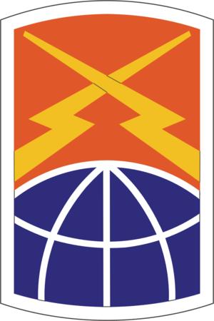 160th Signal Brigade (United States) - 160th Signal Brigade Insignia