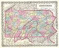 1855 Colton Map of Pennsylvania - Geographicus - Pennsylvania-colton-1855.jpg