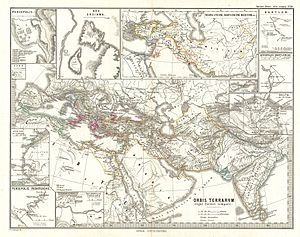 Matiene - Location of Matiene, south of Armenia
