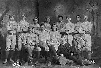 1889 Trinity Blue and White football team - Image: 1889Trinityfootball
