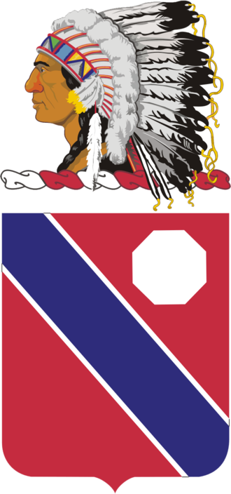 189th Field Artillery Regiment (United States) - Coat of arms