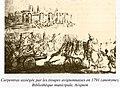 18 Siège de Carpentras (1791) Anonyme Bibliothèque municipale Ceccano Avignon.jpg