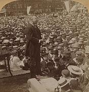 1902 TeddyRoosevelt in Haverhill Massachusetts LC 1s01959u