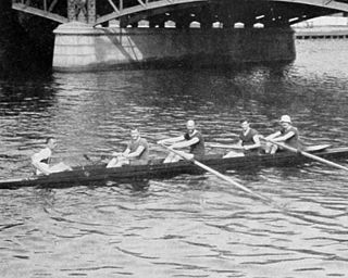 Rowing at the 1912 Summer Olympics – Mens coxed four Olympic rowing event