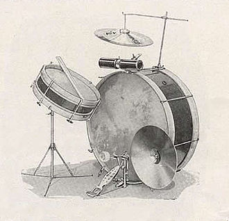 Ludwig Drums - Image: 1918 Ludwig drum sets