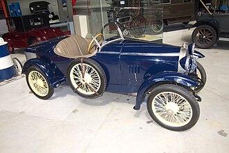 Bugatti Type 13 - Bugatti Type 23 Brescia two-seater boattail 1921