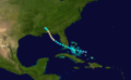1936 Atlantic hurricane 5 track.png