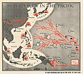 1944 Chapin map of American Progress in the Pacific during World War II for TIME Magazine.jpg