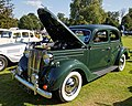 1950 Ford V8-Pilot 3.6L saloon at Capel Manor, Enfield, London, England 1.jpg