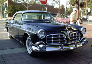 Virgil Exner - The 1955 Imperial, one of the first Exner-styled Chrysler vehicles