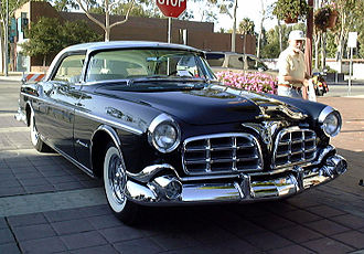 1955 Imperial, one of the first Exner-styled Chrysler vehicles 1955 Imperial.jpg