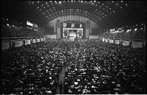 1964 Democratic National Convention - Convention floor